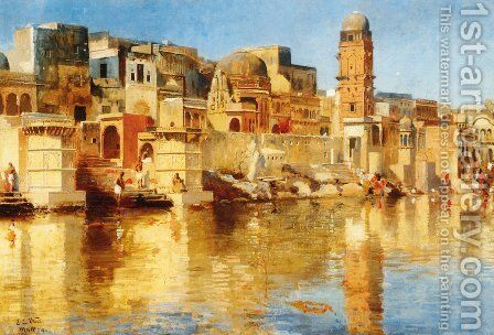 Muttra by Edwin Lord Weeks - Reproduction Oil Painting