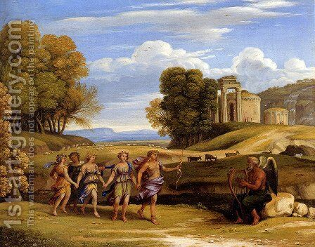 The Dance Of The Seasons by Claude Lorrain (Gellee) - Reproduction Oil Painting