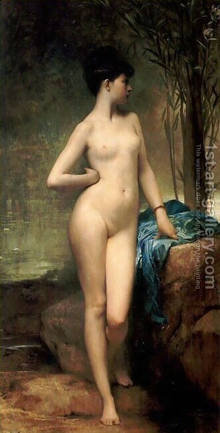 Chloe by Jules Joseph Lefebvre - Reproduction Oil Painting