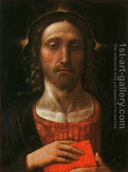 Christ the Redeemer by Andrea Mantegna - Reproduction Oil Painting