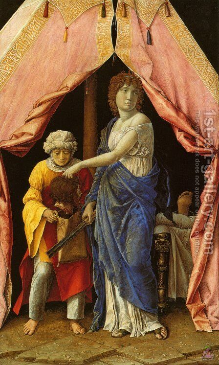 Judith and Holofernes  1495 by Andrea Mantegna - Reproduction Oil Painting