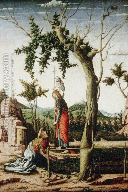 Noli Me Tangere by Andrea Mantegna - Reproduction Oil Painting