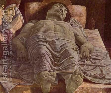 The Lamentation over the Dead Christ c. 1490 by Andrea Mantegna - Reproduction Oil Painting