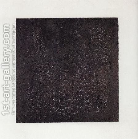 Black Square by Kazimir Severinovich Malevich - Reproduction Oil Painting