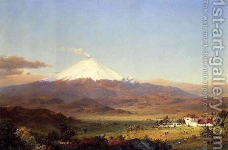 Cotopaxi by Frederic Edwin Church - Reproduction Oil Painting
