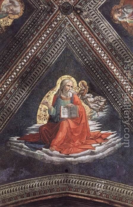 St Matthew The Evangelist by Domenico Ghirlandaio - Reproduction Oil Painting