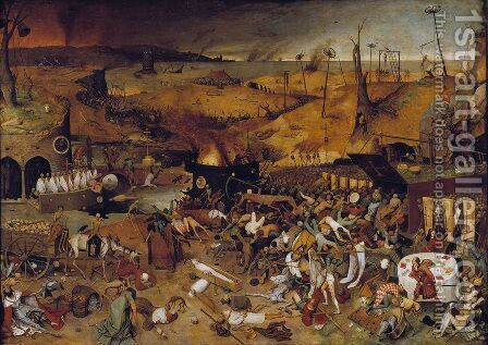 The Triumph of Death c. 1562 by Pieter the Elder Bruegel - Reproduction Oil Painting