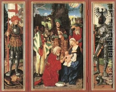 Adoration Of The Magi 1507 by Hans Baldung  Grien - Reproduction Oil Painting