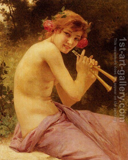 Fuanesse by Guillaume Seignac - Reproduction Oil Painting