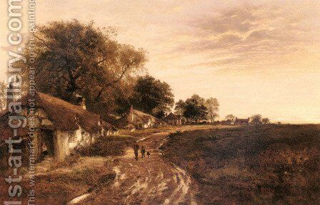 Sunshine After Rain by Benjamin Williams Leader - Reproduction Oil Painting