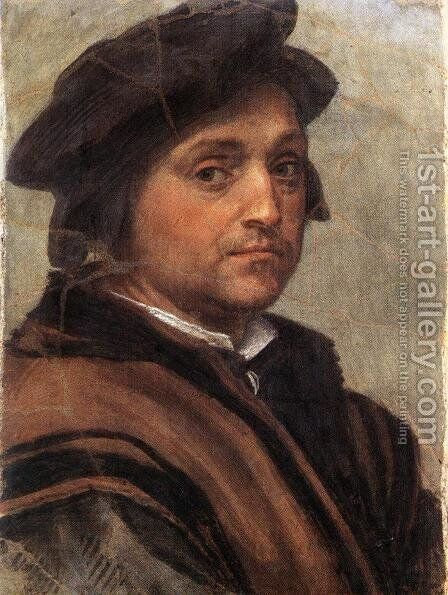 Self Portrait by Andrea Del Sarto - Reproduction Oil Painting