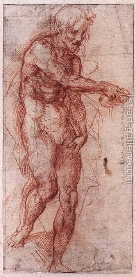 Study for the Baptism of the People 1515 by Andrea Del Sarto - Reproduction Oil Painting