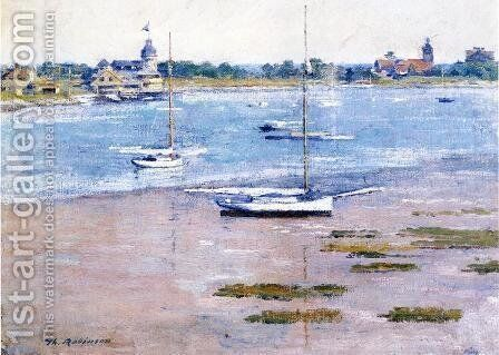 Low Tide by Theodore Robinson - Reproduction Oil Painting