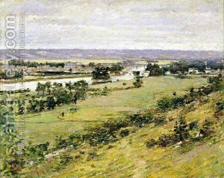 Valley Of The Seine by Theodore Robinson - Reproduction Oil Painting