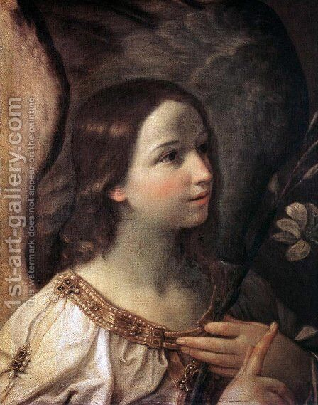 Angel of the Annunciation by Guido Reni - Reproduction Oil Painting