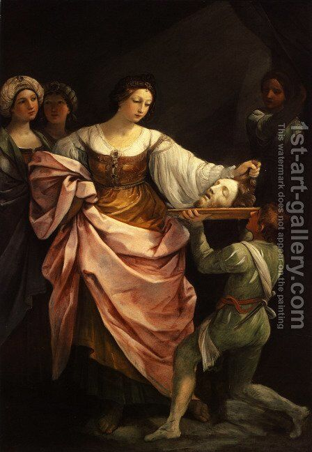 Salome with the Head of Saint John the Baptist 1639-40 by Guido Reni - Reproduction Oil Painting