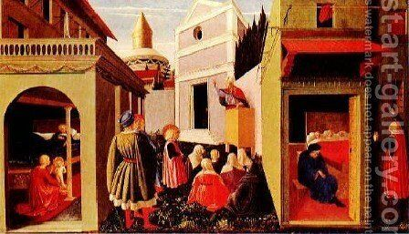 Story Of St Nicholas by Angelico Fra - Reproduction Oil Painting