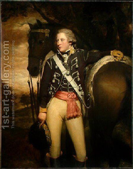 Captain Patrick Miller by Sir Henry Raeburn - Reproduction Oil Painting