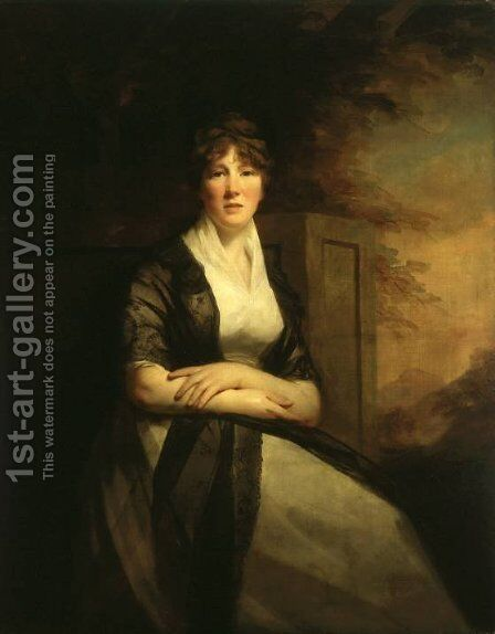 Lady Anne Torphicen by Sir Henry Raeburn - Reproduction Oil Painting