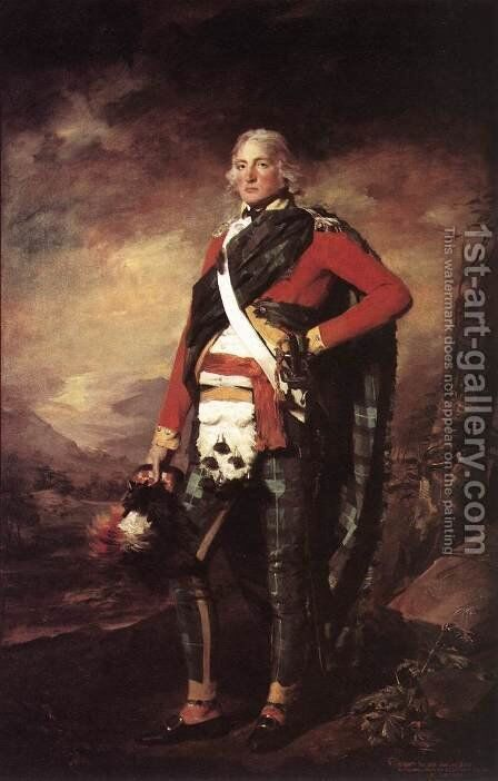 Portrait Of Sir John Sinclair by Sir Henry Raeburn - Reproduction Oil Painting