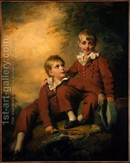 The Binning Children by Sir Henry Raeburn - Reproduction Oil Painting