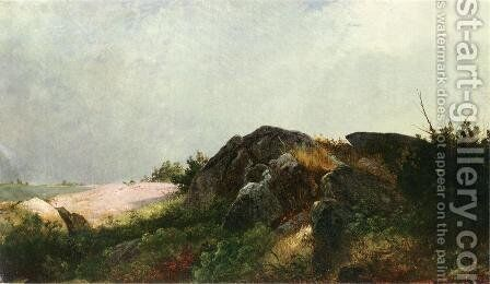 Clearing Off by John Frederick Kensett - Reproduction Oil Painting