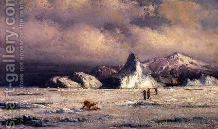 Arctic Invaders by William Bradford - Reproduction Oil Painting