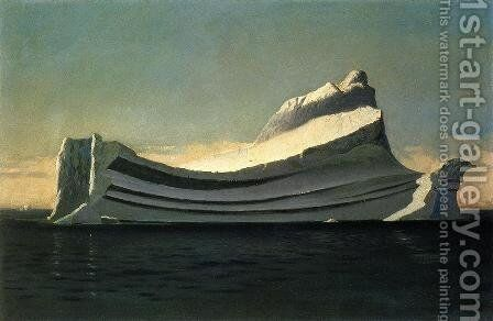 Iceberg by William Bradford - Reproduction Oil Painting
