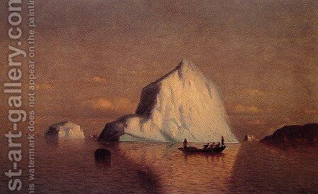 Straits Of Belle Isle by William Bradford - Reproduction Oil Painting