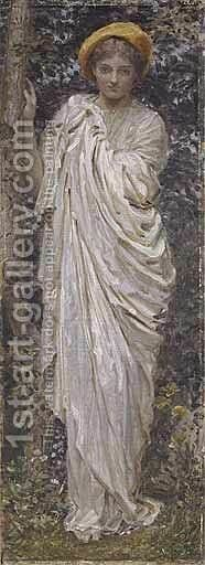 A Footpath by Albert Joseph Moore - Reproduction Oil Painting
