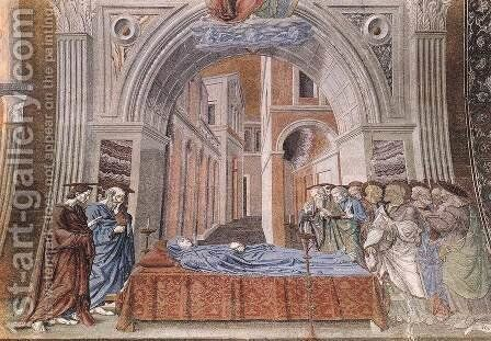 Death Of The Virgin by Andrea Del Castagno - Reproduction Oil Painting