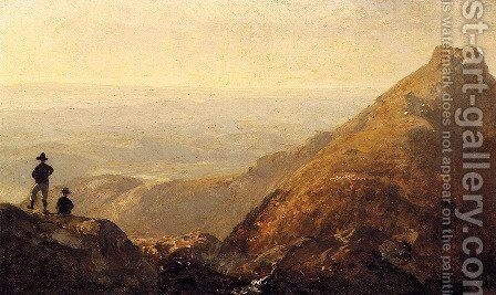 A Sketch Of Mansfield Mountain by Sanford Robinson Gifford - Reproduction Oil Painting
