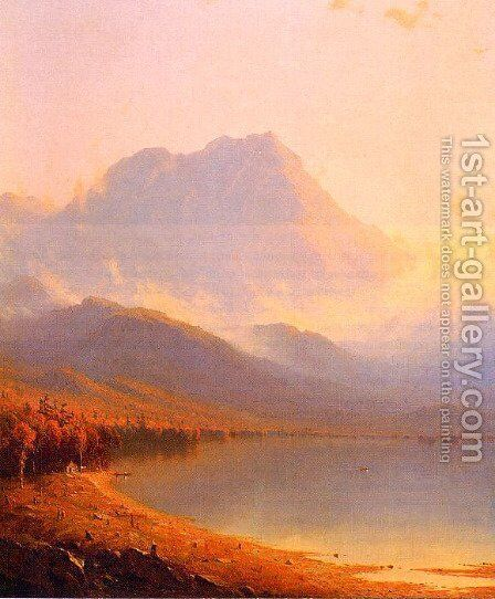 Morning In The Adirondacks by Sanford Robinson Gifford - Reproduction Oil Painting