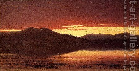 Twilight by Sanford Robinson Gifford - Reproduction Oil Painting