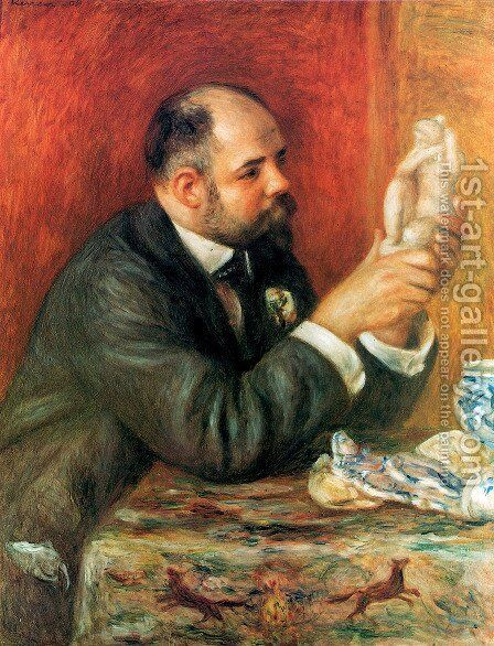 Ambroise Vollard by Pierre Auguste Renoir - Reproduction Oil Painting