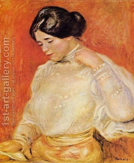 Graziella by Pierre Auguste Renoir - Reproduction Oil Painting