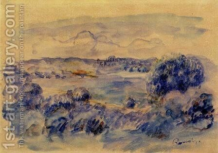 Guernsey Landscape by Pierre Auguste Renoir - Reproduction Oil Painting