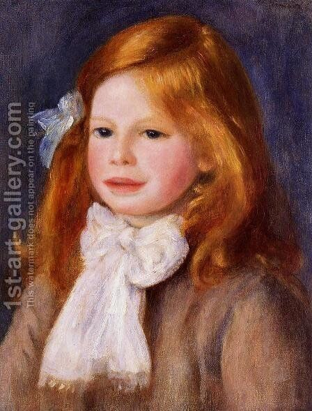 Jean Renoir2 by Pierre Auguste Renoir - Reproduction Oil Painting