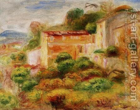La Maison De La Poste by Pierre Auguste Renoir - Reproduction Oil Painting
