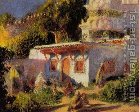 Mosque In Algiers by Pierre Auguste Renoir - Reproduction Oil Painting