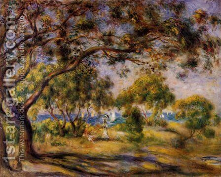Noirmoutiers by Pierre Auguste Renoir - Reproduction Oil Painting