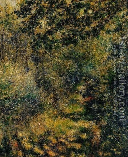 Path Through The Woods by Pierre Auguste Renoir - Reproduction Oil Painting