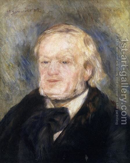 Richard Wagner by Pierre Auguste Renoir - Reproduction Oil Painting