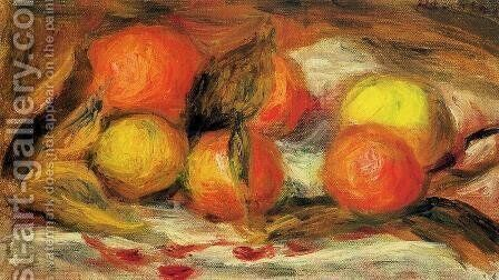 Still Life3 by Pierre Auguste Renoir - Reproduction Oil Painting