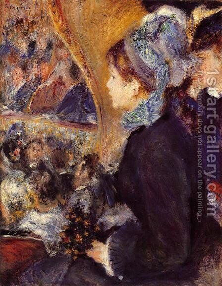 The First Outing by Pierre Auguste Renoir - Reproduction Oil Painting