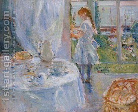 Cottage Interior Aka Interior At Jersey by Berthe Morisot - Reproduction Oil Painting