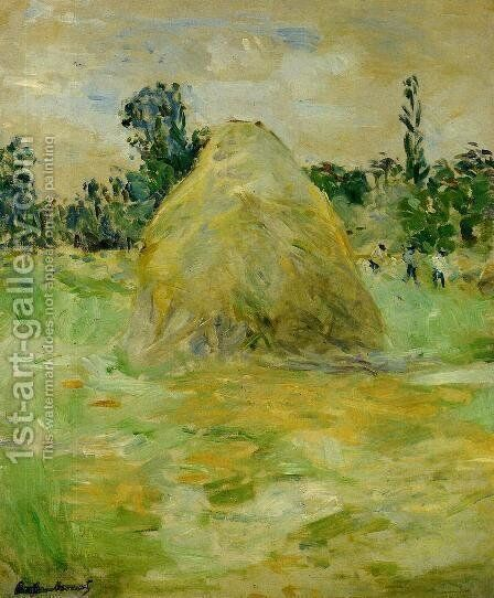 Haystack by Berthe Morisot - Reproduction Oil Painting