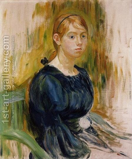 Jeannie Gobillard by Berthe Morisot - Reproduction Oil Painting