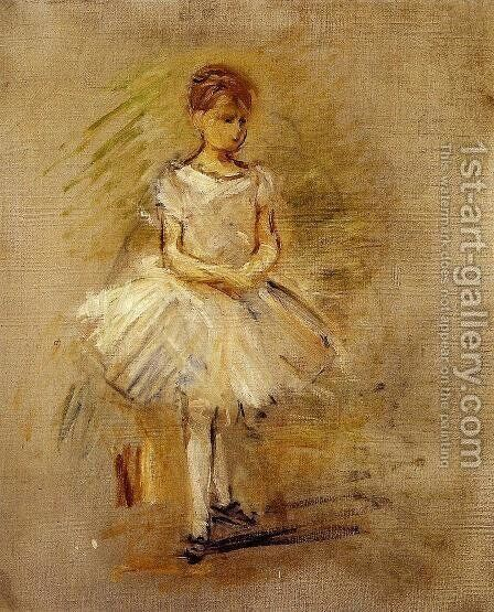 Little Dancer by Berthe Morisot - Reproduction Oil Painting