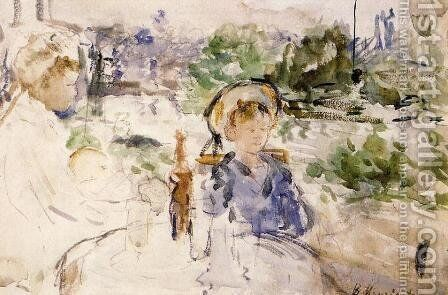 Luncheon In The Countryside by Berthe Morisot - Reproduction Oil Painting